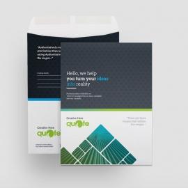 Creative Quote Brand Catalog Envelope
