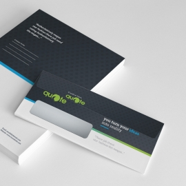 Creative Quote Brand Commerial Envelope