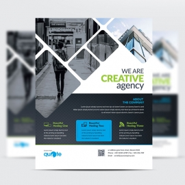 Creative Quote Brand Flyer