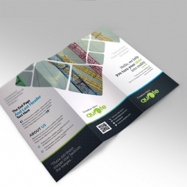 Creative Quote Brand Trifold Brochure