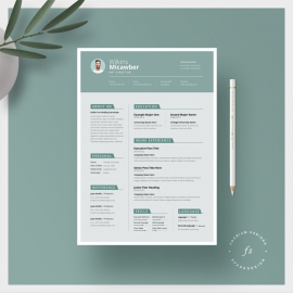 Creative Resume & Cover Letter