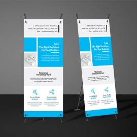 Creative Rollup Banner Template