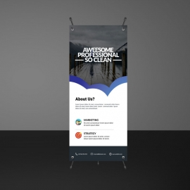 Creative Rollup Banners Template
