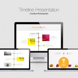Creative Timeline Powerpoint presentation