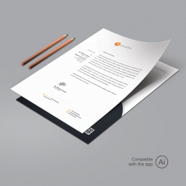 Creative Travel Letterhead Template