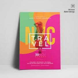 Creative Travel Poster Design