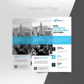 Creatives Flyer Template