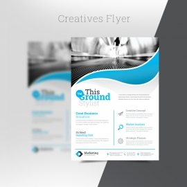 Creatives Flyer Template