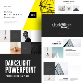 Dark 2 Light Powerpoint Presentation