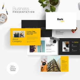 Dark Business Presentation