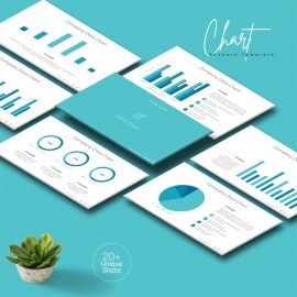 Data Chart Keynote Template