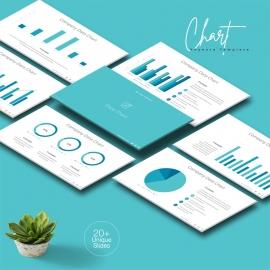 Data Chart Keynote Template