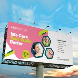 Dental Care BiIlboard Banner