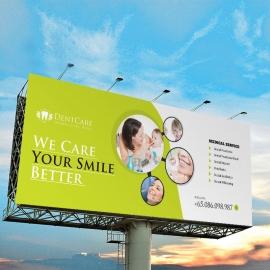 Dental Care Billboard Banner