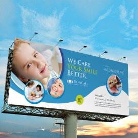Dental Care Billboard Sinage