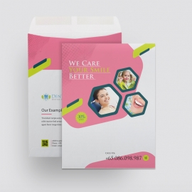 Dental Care Catalog Envelope