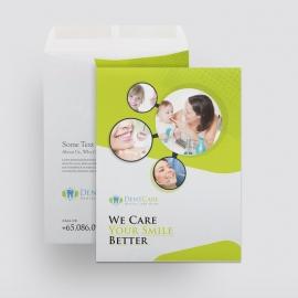 Dental Care Catalog Envelope