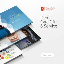 Dental Care Clinic Dentist Service Powerpoint Presentation
