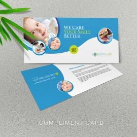 Dental Care Compliment Card