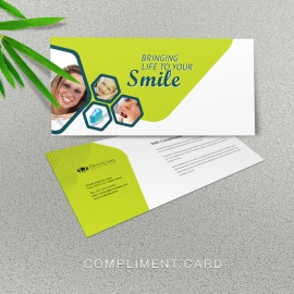Dental Care Compliment Card