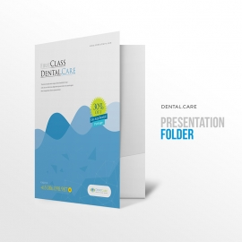 Dental Care Dentist Clinic Presentation Folder