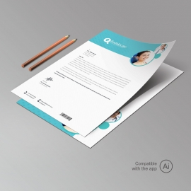 Dental Care Letterhead