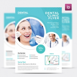 Dental Care Medical Flyer