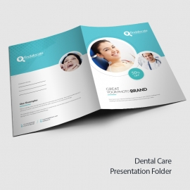 Dental Care Presentation Folder