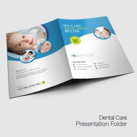 Dental Care Presentation Folder