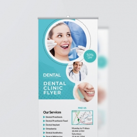 Dental Care Roll-Up Banner