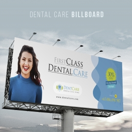Dentist Clinic Dental Care Outdoor Billboard