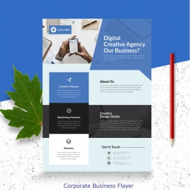 Digital Creative Business Agency Flyer