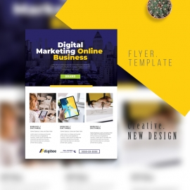 Digital Marketing Business Flyer