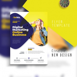 Digital Marketing Business Flyer Template