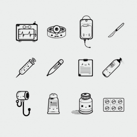 Doctor's Instrument's Icon