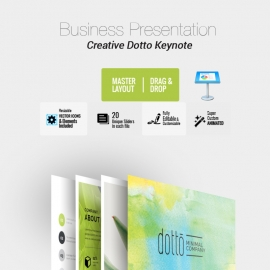 Dotto Keynote Template