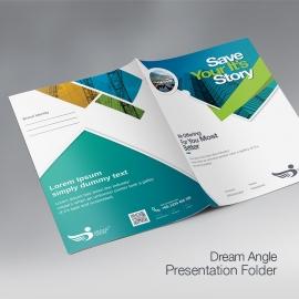 DreamAngle Creative Presentation Folder
