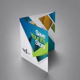 DreamAngle Creative Squre Trifold Brochure