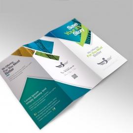 DreamAngle Creative Trifold Brochure