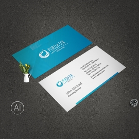 Drinking Water Business Card