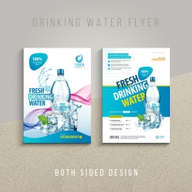 Drinking Water Business Flyer / Poster