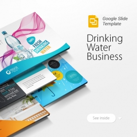 Drinking Water Business Google Slide Template