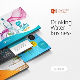 Drinking Water Business Powerpoint Presentation