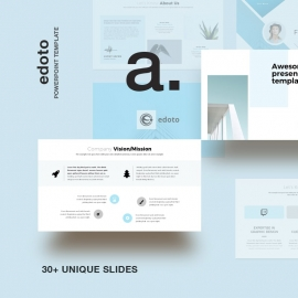 Edoto Business Powerpoint Presentation Template