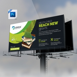 Education & Training Bilboard Banner
