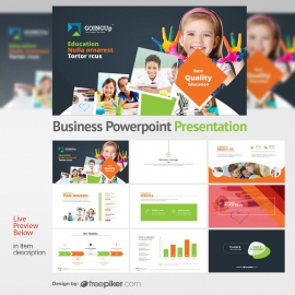 Education & Training Powerpoint Presentation