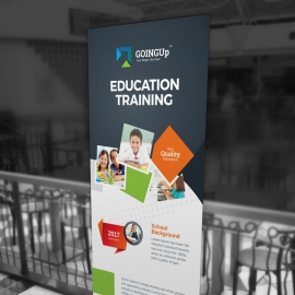 Education & Training School Rollup Banner
