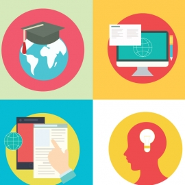 Education Vector Set