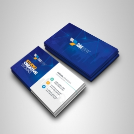 Egyptian Blue Business Card