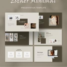 Esther Minimal Presentation Template